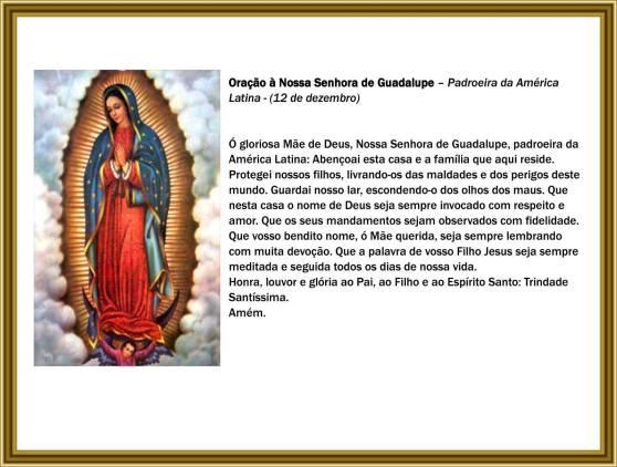 Nostra Signora di Guadalupe - Orazione