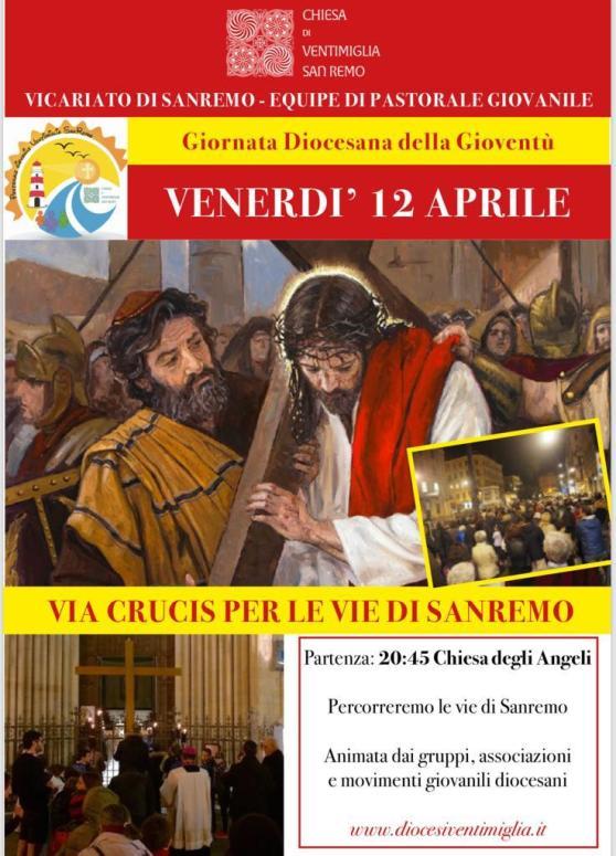 Via Crucis Sanremo 12 Aprile 2019