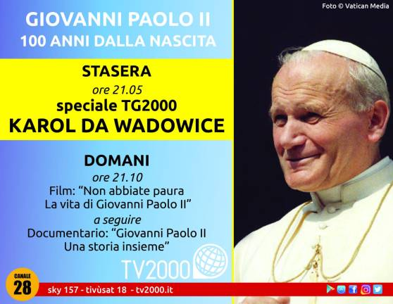San Giovanni Paolo II - Centenario
